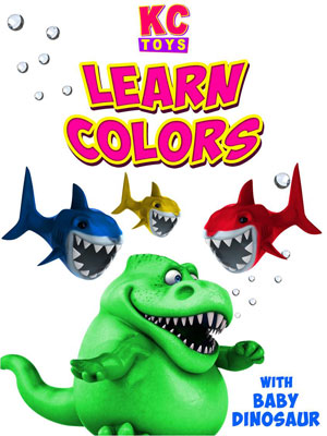 Learn Colors With Baby Dinosaur