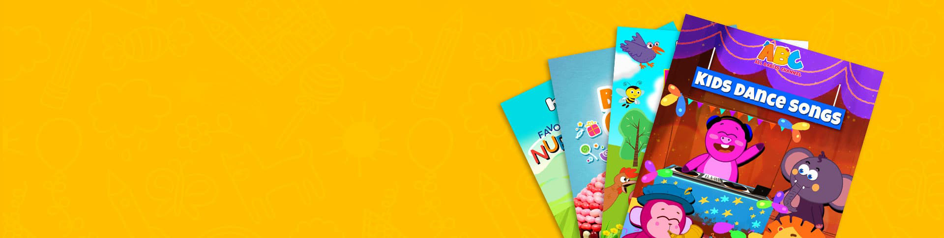 Hooplakidz nursery rhymes for kids banner1