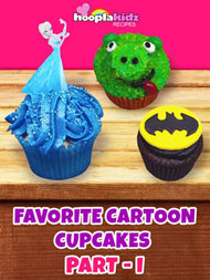 Favorite Cartoon Cupcakes Part -1